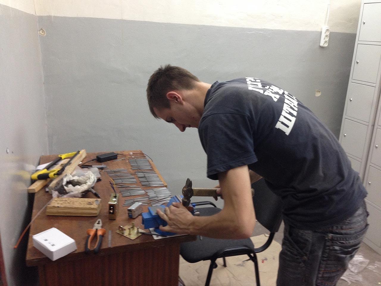 Подготовка комплектующих к установке